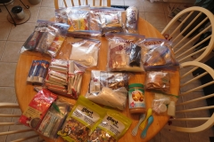 Food for a 6 Day Canoe Trip in Algonquin Park