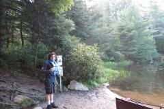 Canoe Lake Portage, Algonquin Park