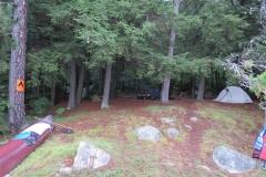 Campsite on Big Trout Lake, Algonquin Park