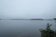Misty Afternoon on Big Trout Lake, Algonquin Park