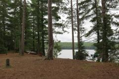 Campsite on White Trout Lake, Algonquin Park