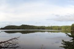 Panoramic Image of White Trout Lake, Algonquin Park